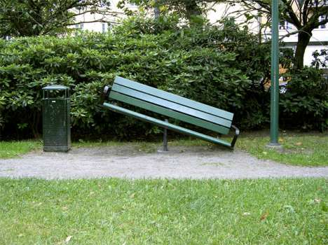 Forced Interaction in Public Spaces - The 'Seesaw Bench'