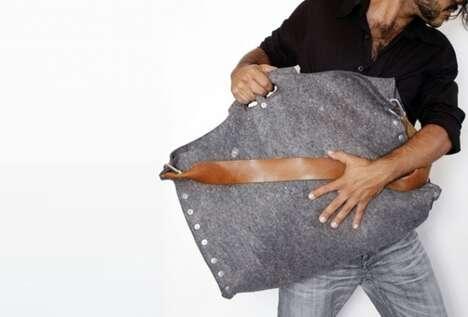 Sleek Man-Bags