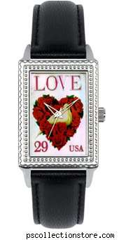 Postage Stamp-Inspired Watches