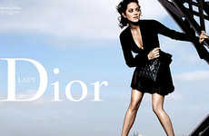 Dangerous Ad Campaigns - Lady Dior Atop the Eiffel Tower
