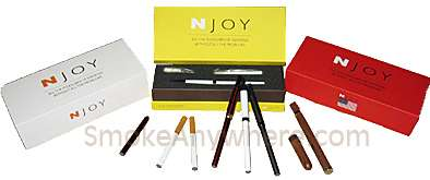 Smoke-Free Smoking - The N'Joy Electric Cigarettes