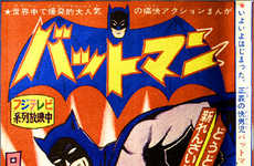 Celebrating Cross-Cultural Icons - 'Bat-Manga!'
