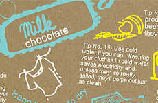 Eco-Educational Treats - The Climate Change Chocolate Bar