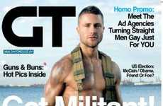 Ads to Turn Straight Men Gay - Homo Promos in 'Gay Times'