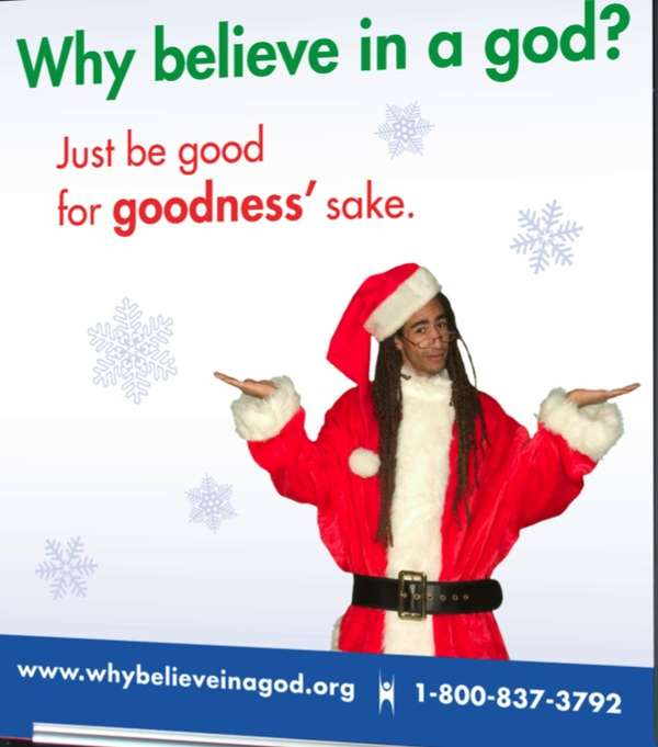Christmas Ads.Controversial Godless Christmas Ads Why Believe In A God