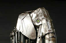 Mechanical Elephants - Robot TME by Andrew Chase