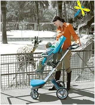 High Riding Strollers