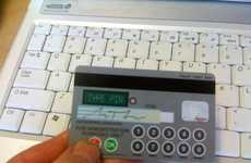 Electronic Super Bank Cards - Credit Card With Keypad