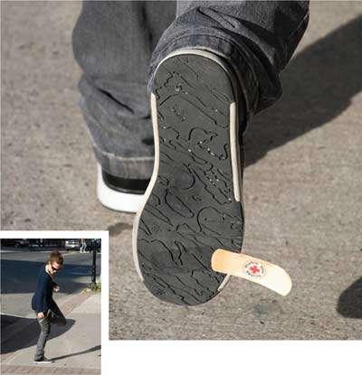 Guerrilla Shoe Repair Ads