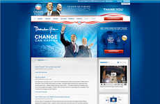 Copycat Websites - Israeli PM Cribs Obama's Site Design