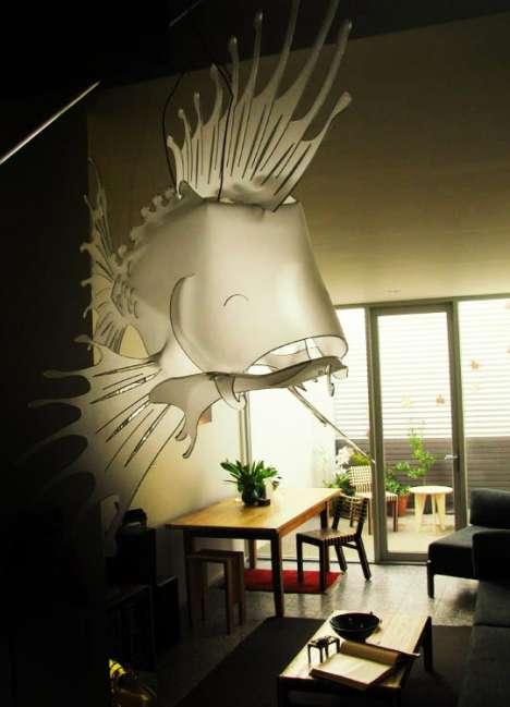 Giant Fish Lighting