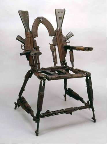 25 Uncomfortable Art Chairs