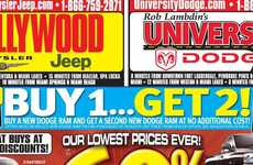 2 for 1 Truck Sales - Extreme Dodge Dealer Incentives