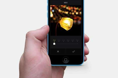 Self-Made Photo Filters - The MIX by Camera360 Allows Users to Create Their Own Custom Image Filters