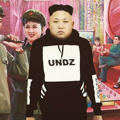 Political Clothing Campaigns - Undz' Political Hoodie is Marketed with Controversial World Leaders