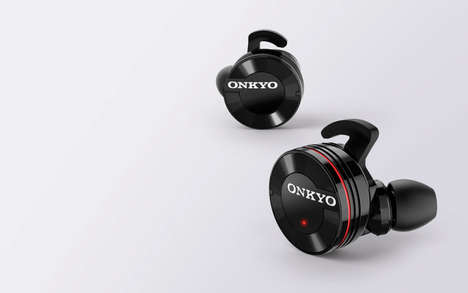 Sleek Wireless Headphones