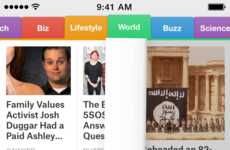 Personalized News Apps - The SmartNews App Allows Users to Access Current News Based on Preferences