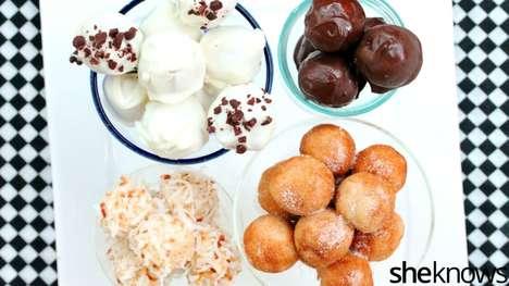 No-Bake Cookie Truffles