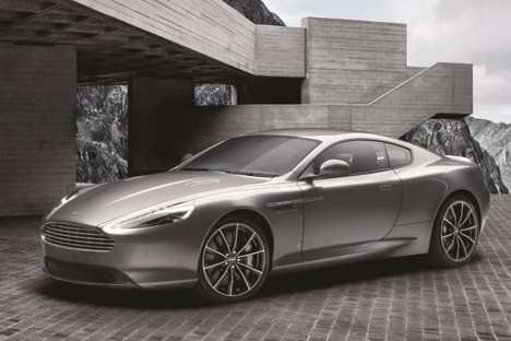 Spy-Themed Luxury Cars - Aston Martin's 'Limited DB9 GT Bond Edition' Pays Tribute to 007