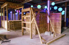 Massive Indoor Obstacle Courses