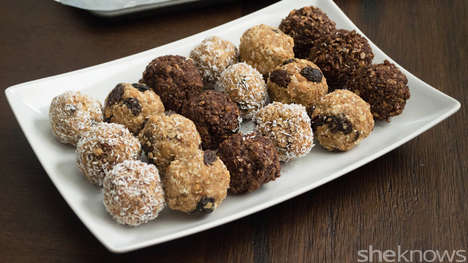 No-Bake Protein Balls - These Homemade Sweet Treats are Filled with Energy and Fuel