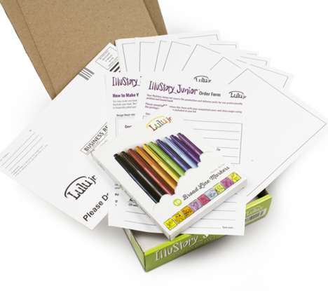Child Author Kits - Lulu.com's 'IlluStory Junior' Lets Kids Write, Draw and Publish a Paperback