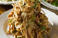 Thai-Inspired Chicken Salads - The Uncle Boons Chicken Salad Brings Thai Culture a Canadian Meal
