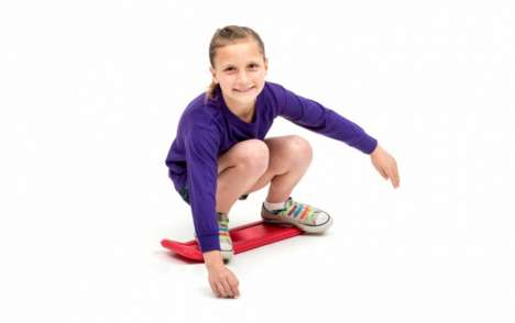 Stunt Board Toys - 'Kick Flipper' is an Active Toy That Does Stunts Like a Skateboard Without Wheels