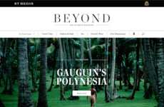 Longform Digital Travel Magazines - Beyond is the New Digital Installment of the St Regis Magazine
