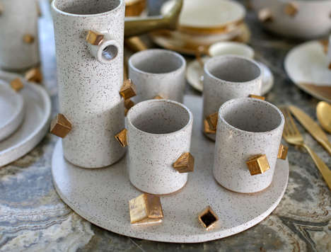 Quirky Cubic Dinnerware