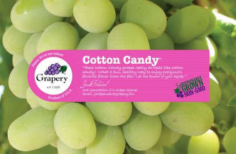 Candy Floss-Flavored Grapes