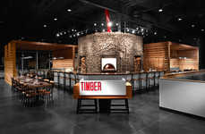 Logger-Honoring Pubs - The Timber Gastro Pub is Made of All Wood to Honor the Logging Community
