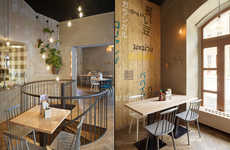 Warm Asian Eatery Interiors - This Prague Restaurant is Inspired by Traditional Asian Ingredients