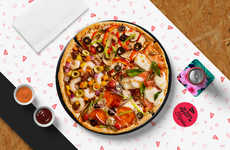 Crowd-Sourced Pizza Menus - Da Pizza Project's DIY Pizza Concept Searches for the Best Pie Flavors