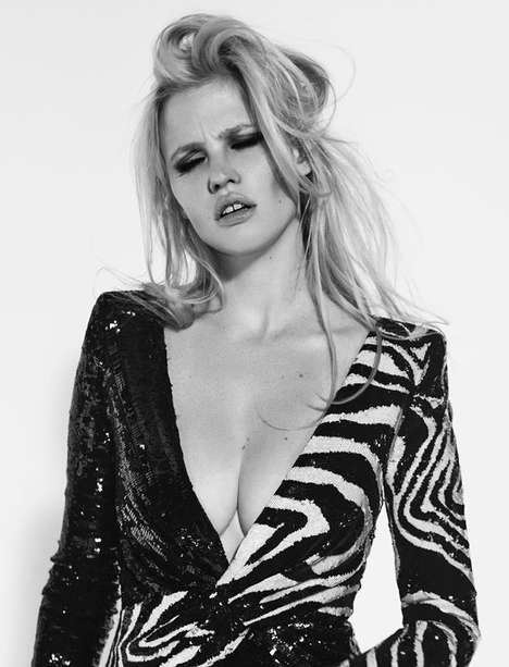 Emotive Supermodel Candids - Lara Stone Stars in L'Express Style's Raw Photo Series