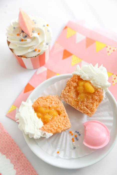 Peachy Marmalade Cupcakes