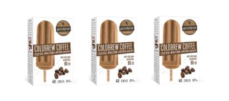 Naturally Caffeinated Popsicles