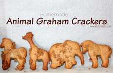 Homemade Animal Crackers - This Recipe Instructs How to Make the Popular Graham Snacks at Home