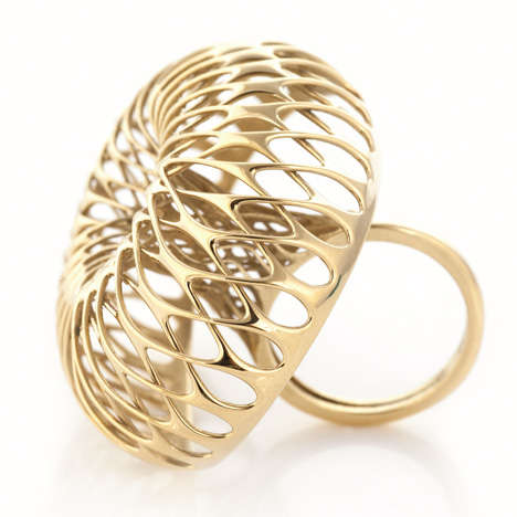 3D-Printed Gold Jewelry