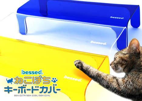 Feline-Barricading Keyboard Covers - The Nekopochi Prevents Your Cat from Lounging on the Keys