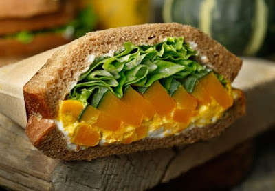 Pumpkin-Infused Sandwiches