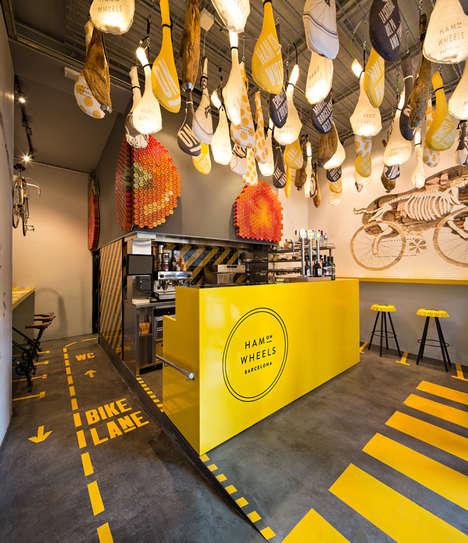 Bike-Inspired Eateries