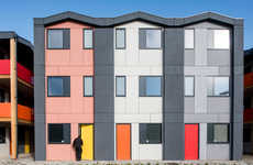 Practical Social Housing Solutions - These Prefab Homes Provide Affordable Temporary Housing