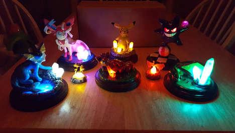 Anime-Inspired Monster Lamps