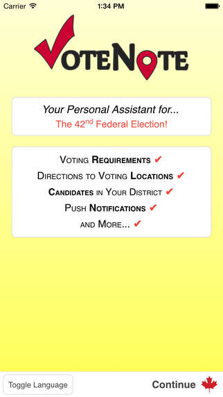 Millennial Voter Apps