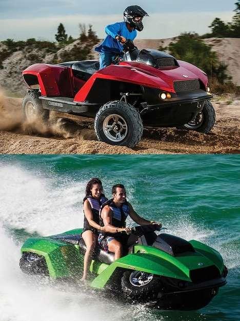Aquatic ATVs