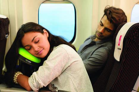 Ergonomic Airplane Pillows