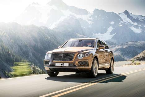 Luxury Golden Vehicles