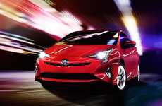 Sporty Electric Vehicles - The 2016 Prius Focuses On Design and Technology