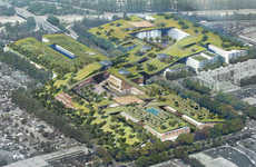 Large Scale Green Communities - This Plan Proposes the Largest Green Roof in the World